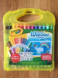 Crayola Washable window markers 25 pack mini markers