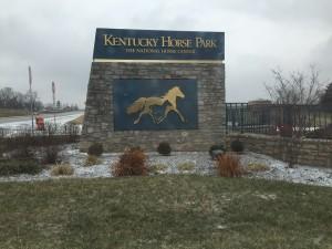 Kentucky Horse Park sign