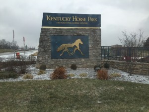 Kentucky Horse Park sign