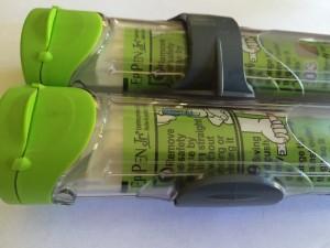 Epipen Jr injector in case