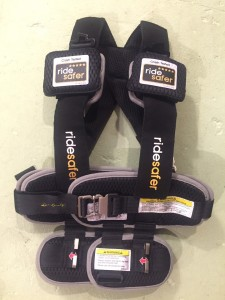 Ride Safer Harness car seat alternative packable