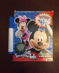 Imagine Ink mess free activity games book for kids with one marker included Mickey Mouse version