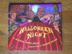 Halloween Night picture book for kids by Marjorie Dennis Murray