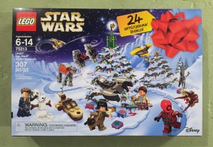 Star Wars Lego advent calendar 2018 version unopened