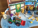 Playmobil Farm Advent calendar characters and accessories on play mat