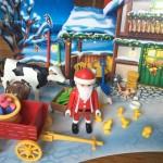 Playmobil advent calendar Santa Christmas on the Farm 2017 version