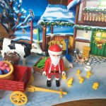 Playmobil advent calendar Santa Christmas on the Farm 2017 version