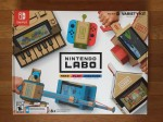 Nintendo Labo variety pack cardboard folding expansion set piano fishing rod house car motorbike