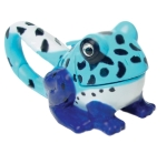 Sun Company Animal Flashight carabiner blue frog style