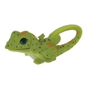 Green lizard sun company lifelights animal flashlight with carabiner