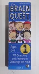 Brain Quest Deck cards Grade 1 ages 6 and 7 years blue cover