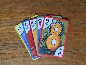 Crazy Eights card game for kids
