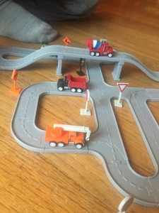 Driven Pocket Series construction play set