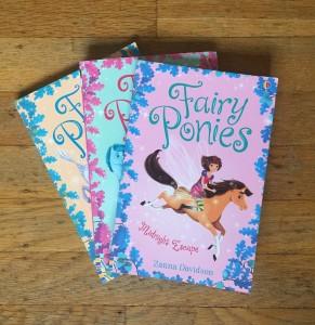 Fairy Ponies book series by Zanna Davidson