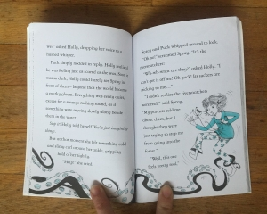 Inside Magic Necklace Fairy Ponies book page spread Zanna Davidson