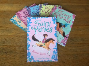 Fairy Ponies series books kids chapter by Zanna Davidson