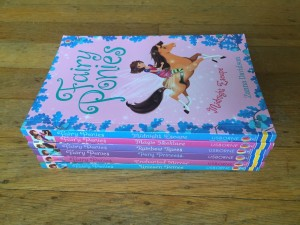 Fairy Ponies series six books Zanna Davidson in stack