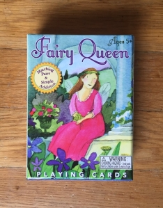 Eboo Fairy Queen playing card game