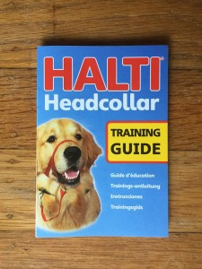 Halti Head Collar training guide and instructions