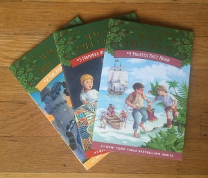 Magic Tree House books 2 3 and 4 by Mary Pope Osborne