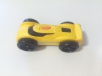 Nerf Nitro foam car yellow with black wheels