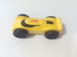 Nerf Nitro foam car yellow with black wheels