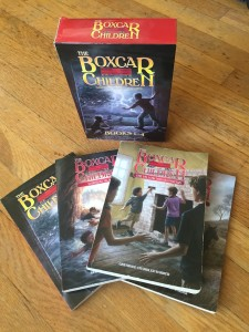 Boxcar Children books boxed set one to four 1-4 Gertrude Chandler Warner