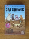 Cat Crimes logic brainteaser game kids from Thinkfun