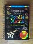 Doodle Mania scratch and Sketch art activity book Trace Along
