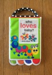 Sassy Look Photo Book Who Loves Baby photo album plastic soft for infants