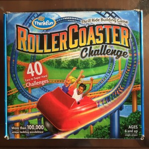 RollerCoaster Challenge single player kids building logic game