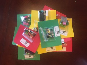 Lego bags valentines cards homemade kids