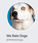 We Rate Dogs profile photo Facebook