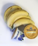 Bananas bunch with Tillamook individual yogurt containers cups