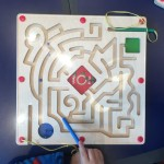 Lakeshore Learning magnetic mazes maze race board for young kids