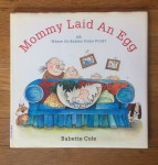 Mommy Laid an Egg sex education for young kids book by Babette Cole cartoon