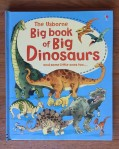 Usborne big book of big dinosaurs with huge oversized fold out pages picture