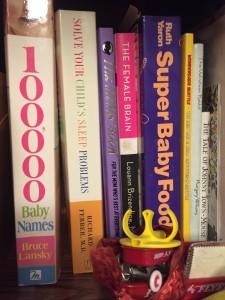 Solve Your Child's Sleep Problems by Richard Ferber on bookshelf