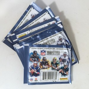 Panini 2018 NFL sticker packs five stickers each