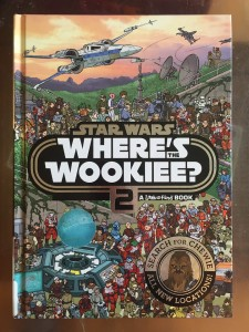 Where's the Wookie? 2 look and find Star Wars book for kids
