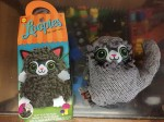 Alex Loopies kids craft kit make your own stuffed animal gray cat version partially finished