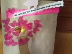 Kid art project tree with pink heart blossoms my love for you keeps growing and growing