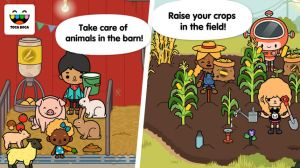 Toca Farm screen shots from iPhone Apple store