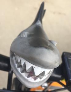 Sunlite Squeeze Horn in Shark shape kids bike horn bell