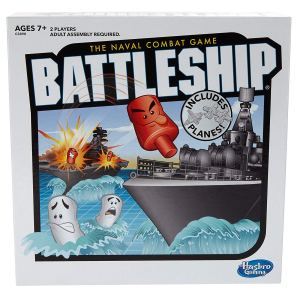 Battleship Game naval combat game box from Amazon