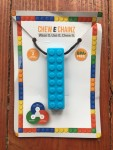Chew-E-Chainz sensory chew objects for kids brick silicone necklace