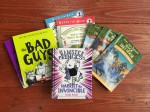 Chapter books for young kids readers The Bad Guys Hamster Princess Henry and Mudge Magic Tree House