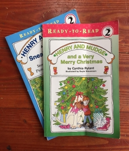 Henry and Mudge books by Cynthia Rylant