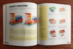 Candy Machine from Genius Lego Inventions book by Sarah Dees