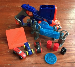 Nerf Chaos Fury foam car blaster and launcher